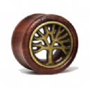 Wooden Tree of Life Plug